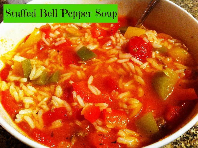 Stuffed Pepper Soup Recipe — Dishmaps